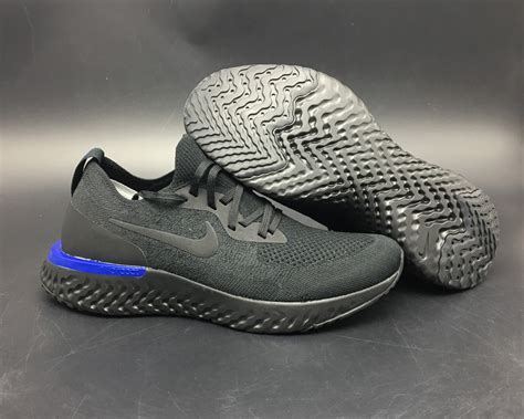 Jual Nike Epic React Black nike epic react flyknit black black racer blue black running shoes new jordans 2018