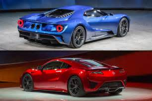 Ford Gt Vs Supercar Ford Gt Vs Acura Nsx