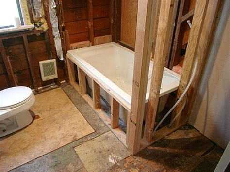 installing a drop in bathtub drop in tub look with shower ceramic tile advice forums