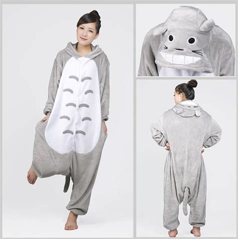 new japan jumpsuit animal anime totoro kigurumi pajamas