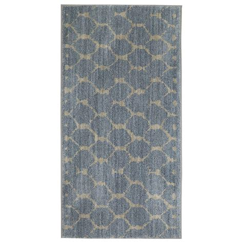 jeff lewis rugs jeff lewis avery denim 2 ft x 4 ft area rug 497644 the home depot