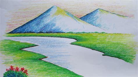 simple mountain drawing  getdrawingscom