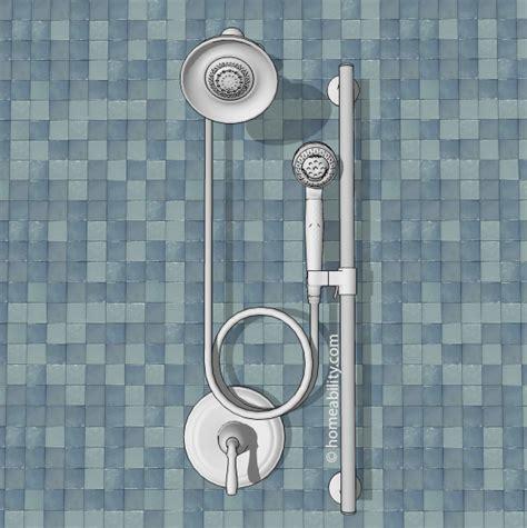 adding a shower head to a bathtub handheld showerhead guide the basics homeability com