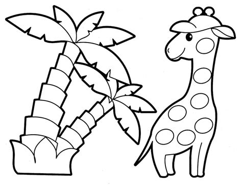 jungle animals coloring pages preschool 2o awesome jungle coloring pages