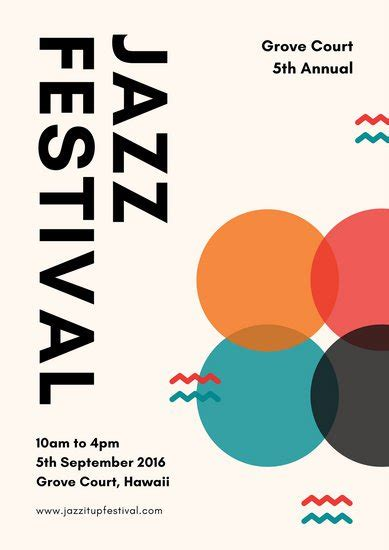 canva jazz customize 110 jazz poster templates online canva