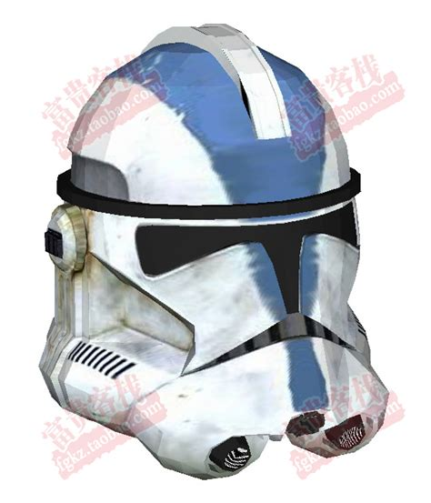 How To Make A Clone Trooper Helmet Out Of Paper - paper model wars clone cavalry helmet 1 1 can