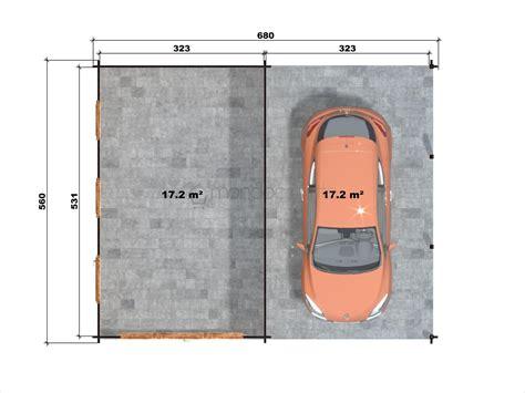 box auto dimensioni minime garage in legno 4 con tettoia