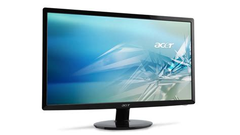 Hp Acer S1 acer s1 series ultra thin led monitors unveiled