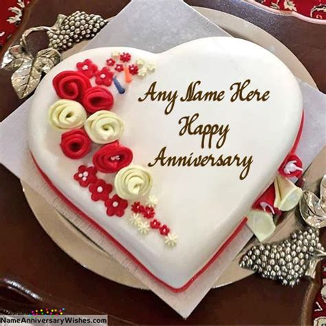 Wedding Anniversary Wishes With Cake by Best Happy Wedding Anniversary Cakes With Name