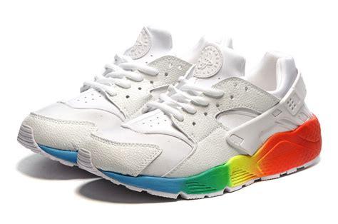 nike colorful sneakers nike air huarache white colorful shoes