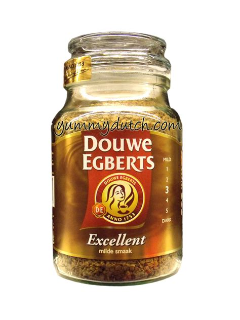Instant Coffee Excellent Douwe Egberts   Yummy Dutch