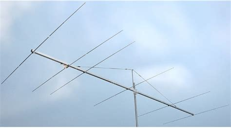 mhz long yagi antenna   boom  elements pa