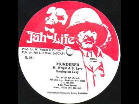 barrington levy murderer barrington levy murderer original reggae mix youtube