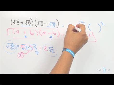 raiz cuadrada de 108 binomios conjugados ra 237 z cuadrada ej 2 youtube