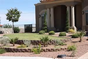 front yard desert landscaping designs desert landscaping ideas front back yard