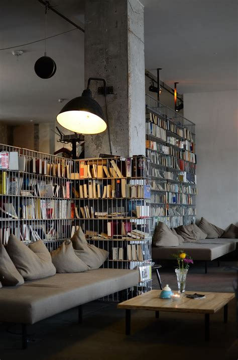 interior design book cafe library moody home interior design book storage berlin
