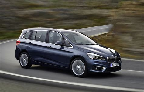 bmw 2 series gran tourer revealed premium 7 seat