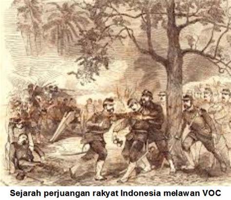 Sejarah Pergerakan Rakyat Indonesiaa Kpringgodigdo sejarah perjuangan rakyat indonesia melawan voc materi