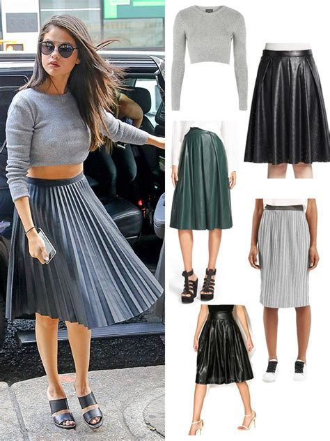 Pleated Midi Skirt Rok Murah Promo selena gomez s midi skirt 4 ways you can rock the stylish trend