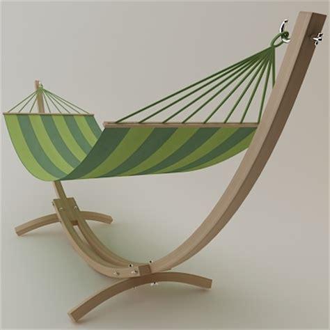 Hammock Support troya hammock support 3d models cgtrader