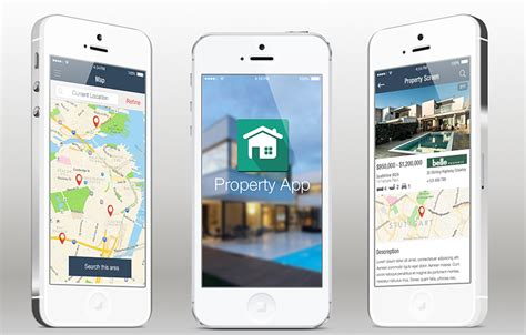 mobile splash screen templates realty ios app template