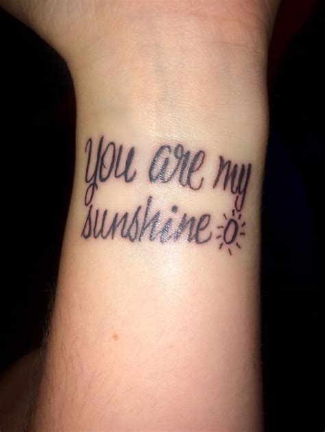 you are my sunshine tattoos best 25 tattoos ideas on sunflower