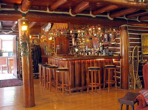 Log Cabin Tavern log cabin bar studio design gallery best design