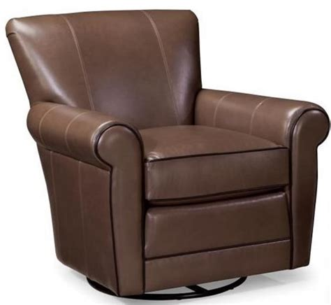 Smith Brothers 514 Casual Swivel Glider Chair With Rolled Upholstered Swivel Glider Chair