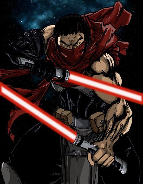 sith warrior nai kage star wars x webcomic