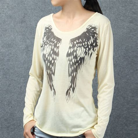 Sleeve Wing Printed Top front wing promotion shop for promotional front wing on