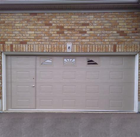 Pass Through Garage Door Walk Thru Garage Door