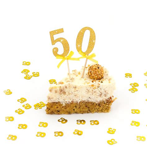 Deko Sticker Hochzeit by 50 Geburtstag I Goldene Hochzeit I Jubil 228 Um Kuchen