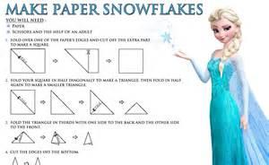 Winter Decorating - paper snowflakes free disney s frozen printables