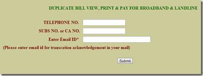 Mtnl Delhi Address Search Mtnl Delhi Duplicate Bill And Payment Billalert