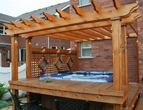 pergola tub best 25 tub pergola ideas on deck with pergola pergola with shade and canopy