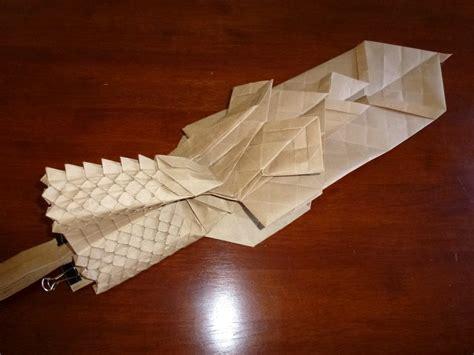 origami ryujin ryujin 3 5 continued setting the crease