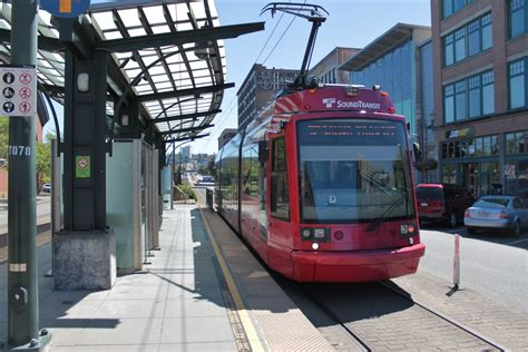 Tacoma Light Rail by Take An Early Peek At Tacoma S New Light Rail Stations Curbed Seattle