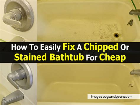 how to fix a chipped bathtub how to easily fix a chipped or stained bathtub for cheap
