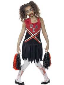 Zombie Cheerleader Costume Child Zombie Cheerleader Costume Online Joke Shop