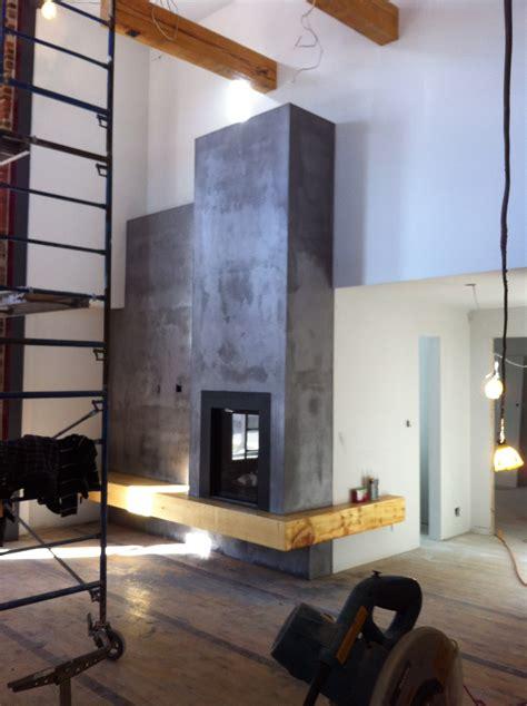 foyer au gaz mur foyer en beton r 233 alisations foyers
