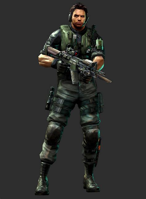 chris redfield mvc3 resident evil