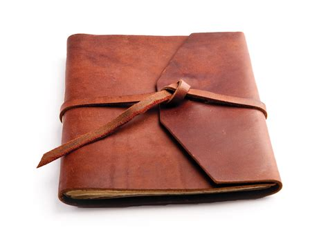 rustic notebook notebook journal size 7 x 10 ruled lined books the observer a rustic leather journal by blue sky papers