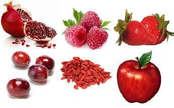 imagenes de verduras rojas frutas 191 asociadas con la longevidad