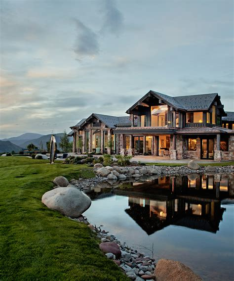 tour an aspen home with beautiful views dujour