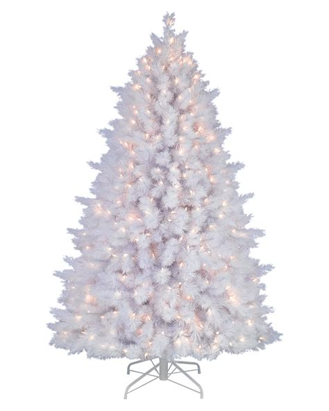 snow white artificial pine christmas tree treetopia