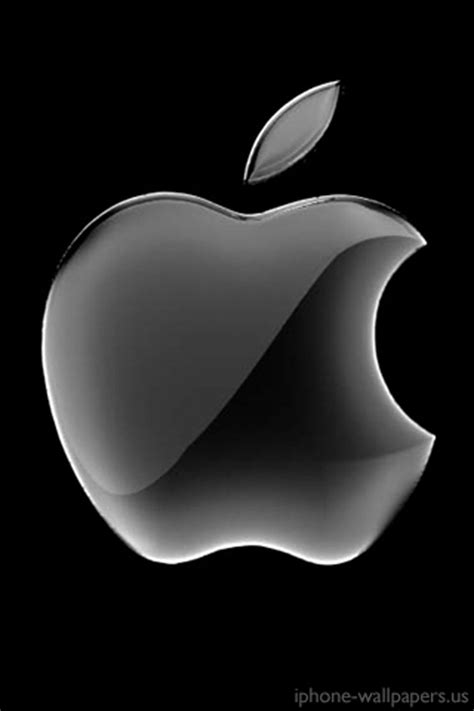 Apple Mac Brand Logo Iphone Wallpaper 4 4s 55s 5c 66s Plus apple logo black iphone 4 4s wallpaper and background