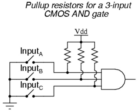 ttl input pull resistor lessons in electric circuits volume iv digital chapter 3