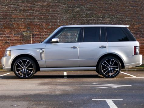 land rover range rover vogue tdv8 overfinch styling