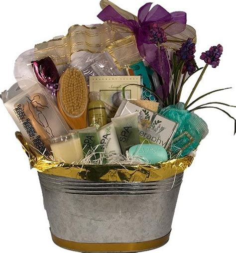how to make a gift basket how to make a spa themed gift basket with pictures ehow
