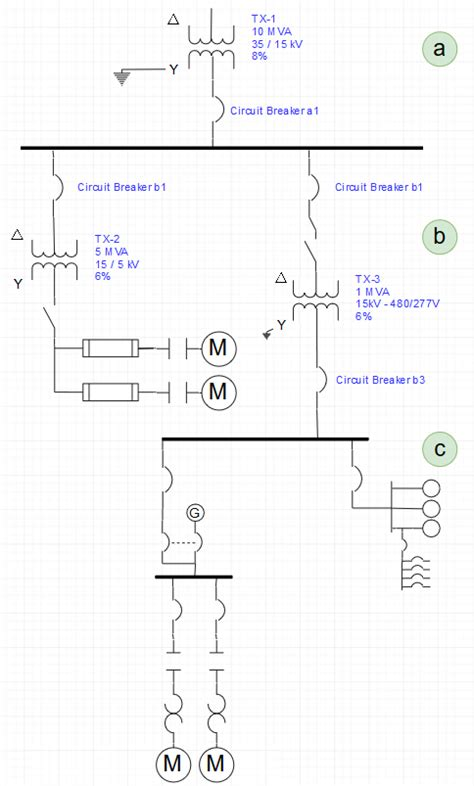 industrial electrical wiring diagrams single line